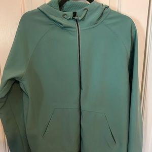 NIKE WOMENS XL Windbreaker Jacket full zip hoodie